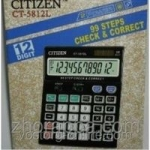 Калькулятор Citizen CT-812