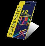 Цветные карандаши «MARKO»12цв  двусторонние