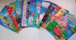 Детские книги-сказки А4 (мягкие)