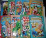 Детские книги-сказки  А5 (твердые)