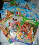 Детские книги-сказки картон А5  (рус)