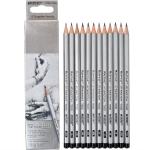 Простые карандаши 2B