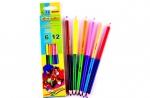 """Цветные карандаши 6 цв. """"Marco"""" двусторонние"""