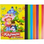 Цветной  картон (А4)