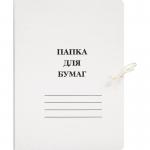 Папка для  бумаг на завязках А4