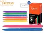 Ручка автомат TUKZAR  TZ-1077 C, синяя