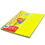 Ксероксная бумага для принтера А4 цветная 100 л пл.80 г/1м