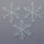 Снежинка мягкая 20 см
