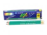 Простые карандаши с резинкой