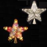 """Верхушка светящаяся """"звезда"""" маленькая"""