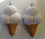 "Елочная игрушка ""Мороженое"" (11 см)"