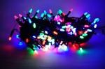 Гирлянда LED 100л mix цветная